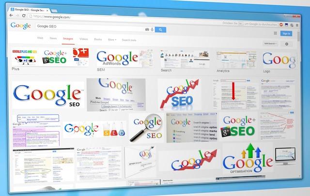 グーグルの検索エンジン